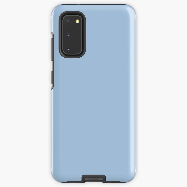 Baby Blue Solid Color Decor Samsung Galaxy Tough Case