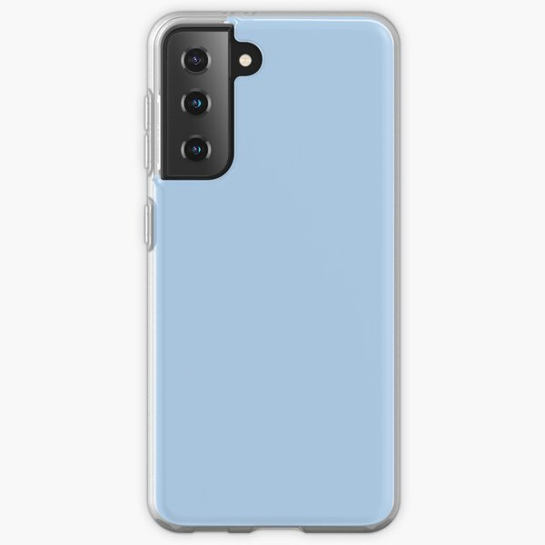 Baby Blue Solid Color Decor Samsung Galaxy Soft Case