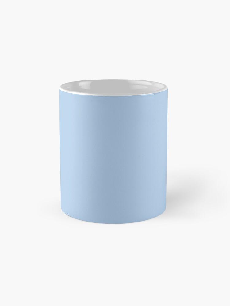 Alternate view of Baby Blue Solid Color Decor Mug