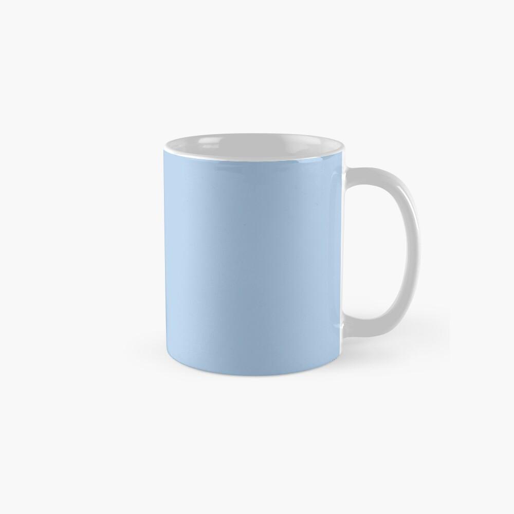 Baby Blue Solid Color Decor Mug