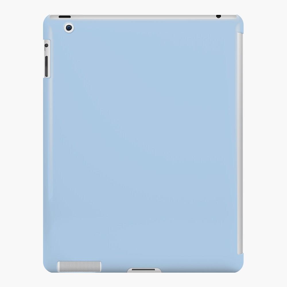 Baby Blue Solid Color Decor iPad Case & Skin