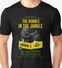 Ali vs Foreman Rumble in the Jungle Unisex T-Shirt