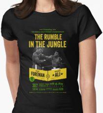 Ali gegen Foreman Rumble im Dschungel Tailliertes T-Shirt