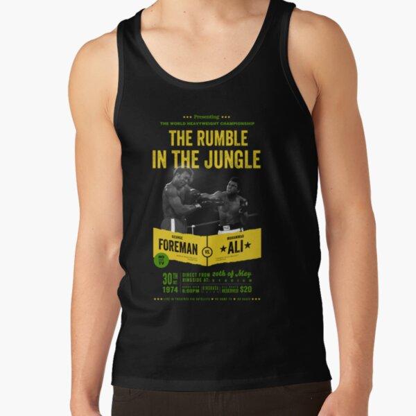 Ali vs Foreman Rumble in the Jungle Tank Top