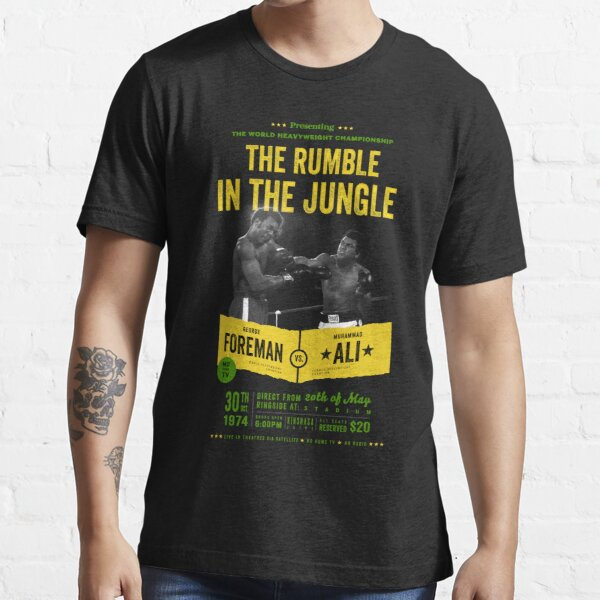 Ali vs Foreman Rumble in the Jungle Essential T-Shirt
