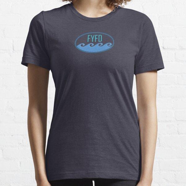 Wavy Kelvin-Helmholtz Logo Essential T-Shirt