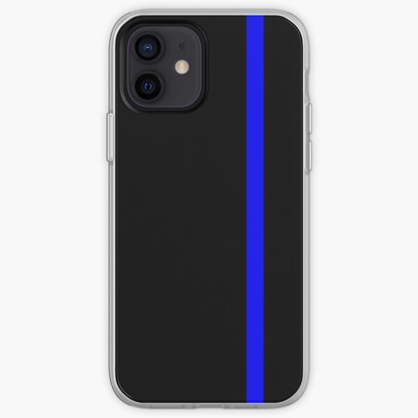 The Thin Blue Line iPhone Soft Case