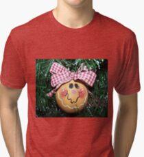 Gingerbread Girl Tri-blend T-Shirt