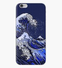 The Great Hokusai Wave chrome carbon fiber styles iPhone Case