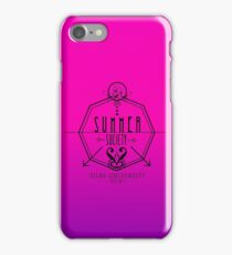 Silas University Summer Society- coloured iPhone Case/Skin