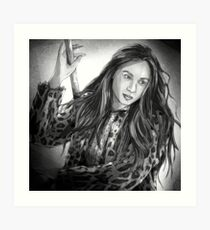 Waverly Earp Art Print