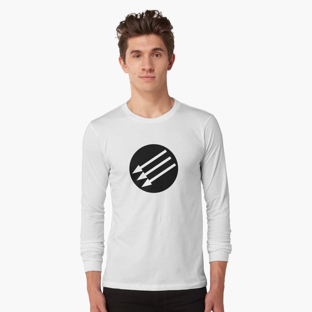 Antifascist Circle Long Sleeve T-Shirt
