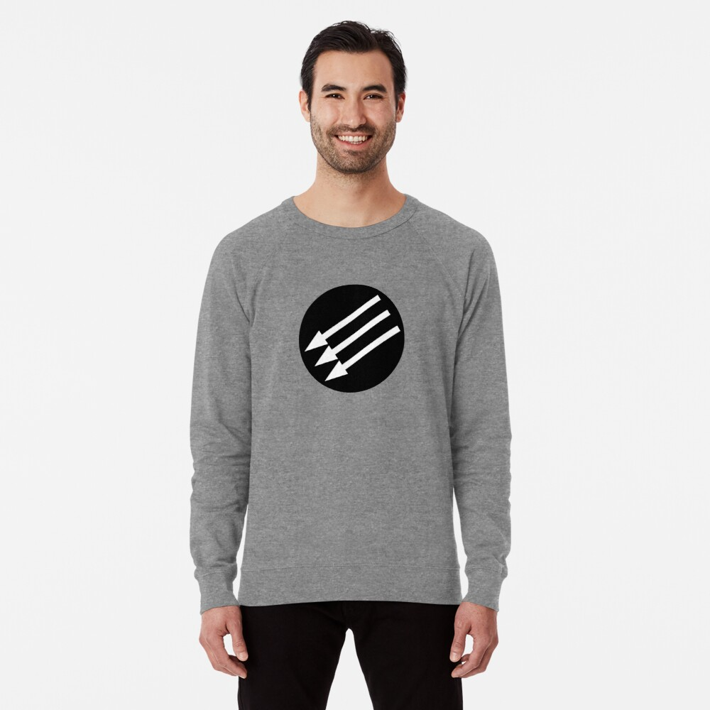 Antifascist Circle Lightweight Sweatshirt