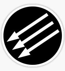 Antifascist Circle Sticker