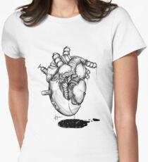 Iron heart Women's Fitted T-Shirt