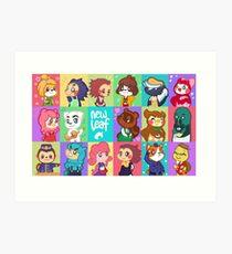 Animal Crossing: New Leaf Art Print