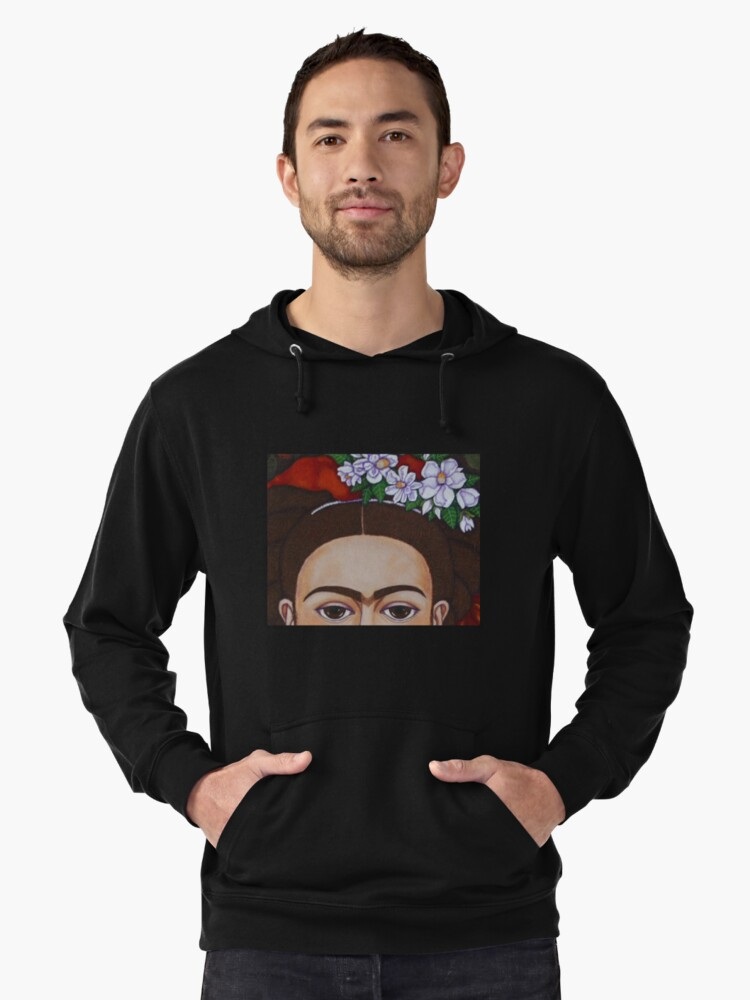 Those eyebrows! Lightweight Hoodie Front