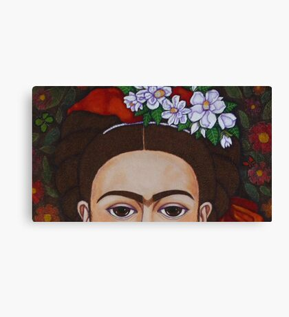 Those eyebrows! Canvas Print