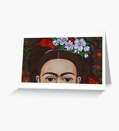 Those eyebrows! Greeting Card