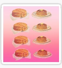 Waffles and Pancakes Sticker