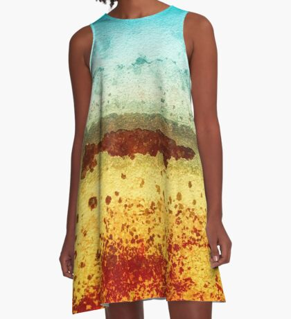 Swimming Below the Surface A-Line Dress