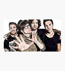 Fall Out Boy Photographic Print