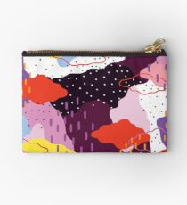 Purple Winter Studio Pouch