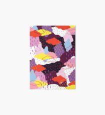Purple Winter Art Board