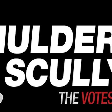 Mulder / Scully 2020 by rexraygun