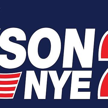 Tyson / Nye 2020 by rexraygun