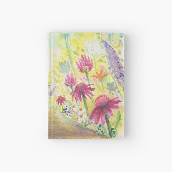 through the garden Hardcover Journal