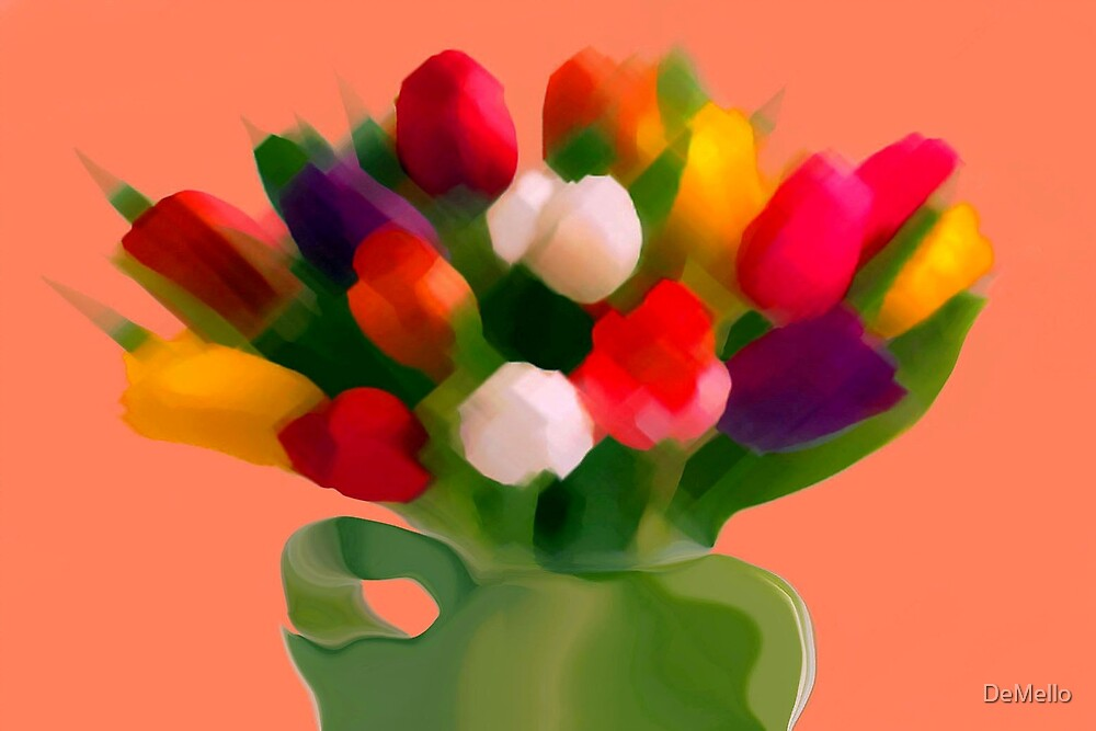 Tulips by DeMello
