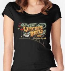 Witches Brew Coffee Women's Fitted Scoop T-Shirt