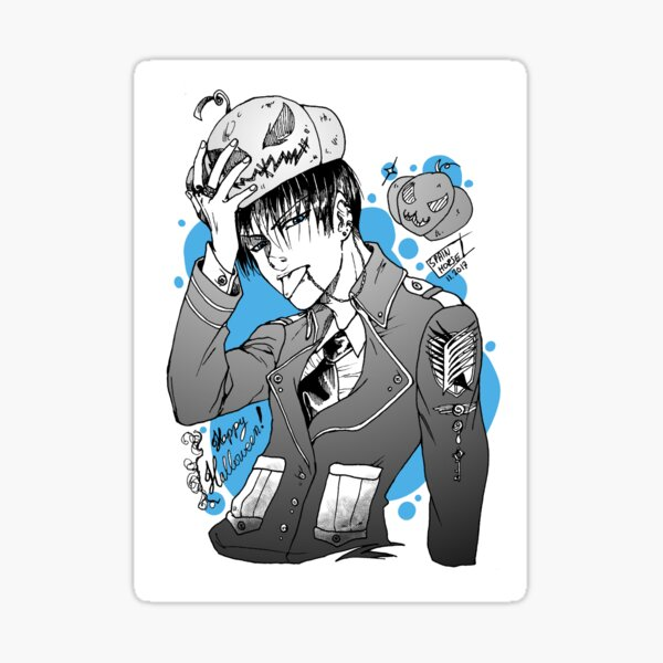 Halloween-Levi! Sticker