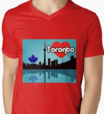 Toronto Men's V-Neck T-Shirt