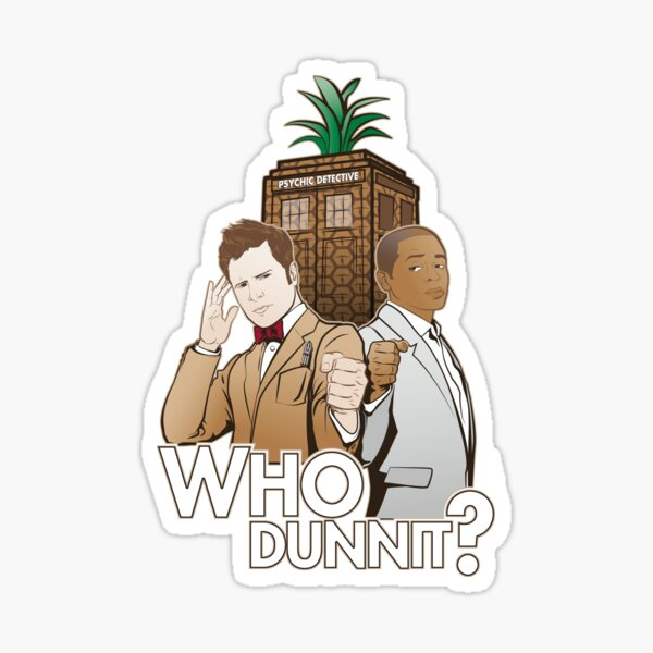 Crime Fighting Duo Sticker