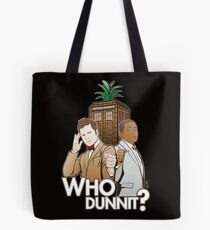 Crime Fighting Duo Tote Bag