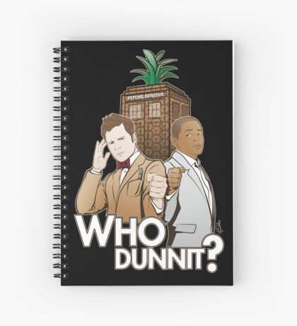 Crime Fighting Duo Spiral Notebook