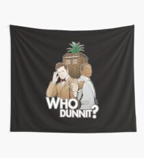 Crime Fighting Duo Wall Tapestry