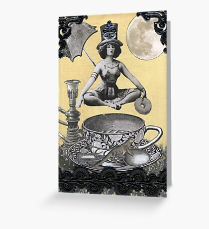 Java Goddess Greeting Card
