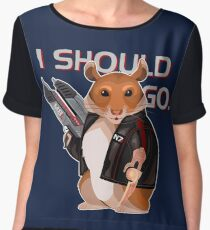 Space Hamster Mass Effect Chiffon Top