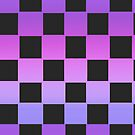 Purple Checkers by Mannykat8x