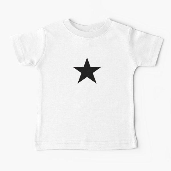 Black Star Emoji Baby T-Shirt