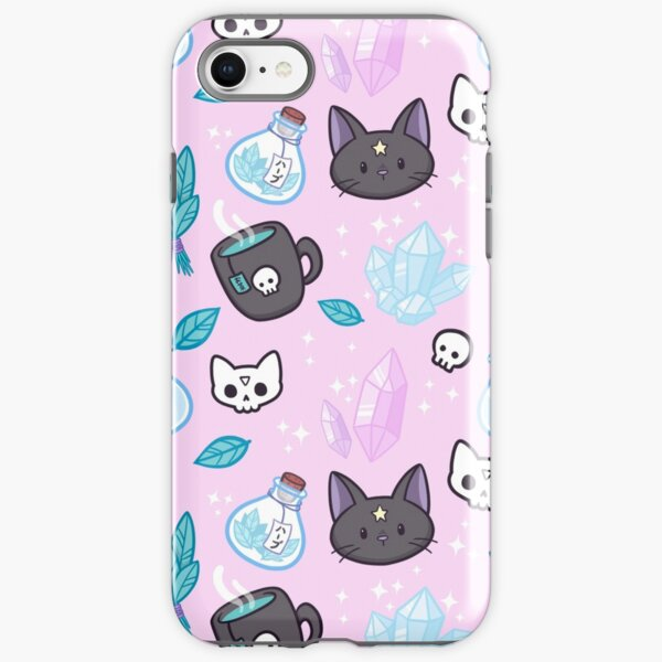 Herb Witch // Pink iPhone Tough Case