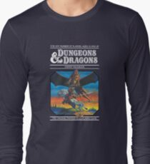 Dungeons and Dragons Expert Rule book (remastered) Long Sleeve T-Shirt