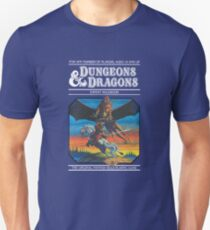 Dungeons and Dragons Expert Rule book (remastered) Unisex T-Shirt