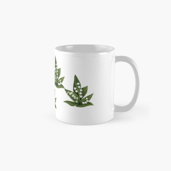 D1G1TAL-M00DZ ~ FLORAL - Lily of the Valley by tasmanianartist Classic Mug