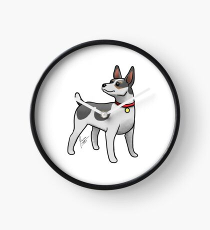 Rat Terrier Clock