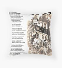 The Great Depression   Throw Pillow