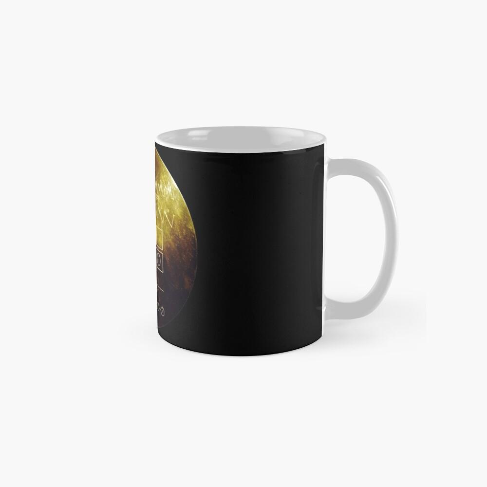 Voyager Goldene Schallplatte Tasse (Standard)
